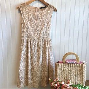 Zara Lace Mini Dress